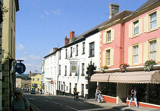 Wincanton town in Somerset, England