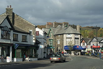 Windermere, Cumbria (town) - Image: Windermere Main Road