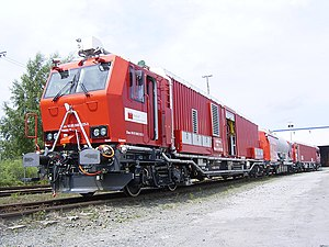 CargoSprinter - SBB fire fighting and tunnel rescue train