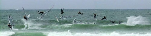 Windsurf-wipeout