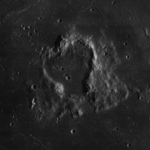 Wolf (crater) - Image: Wolf crater 4120 h 1