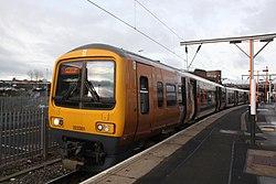 Wolverhampton - WMT 323201 Walsall service.JPG