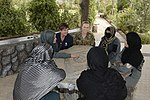Women from 203rd Zone Afghan Border Police and TAAC-S attend shura at Kandahar Airfield, Afghanistan 150809-N-SQ656-158.jpg