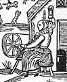 Woodcut Woman Spinning Detail.jpg