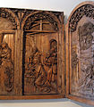 Wooden Gothic altar in Unterlinden Museum, Colmar.jpg