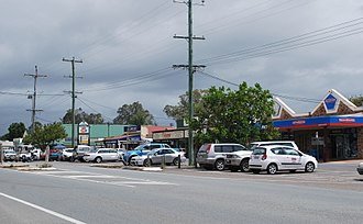 Woodford, Queensland - Main street