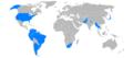 World operators of the Beechcraft Queen Air.png