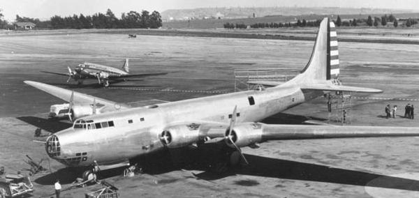 XB-19 on ground (cropped)