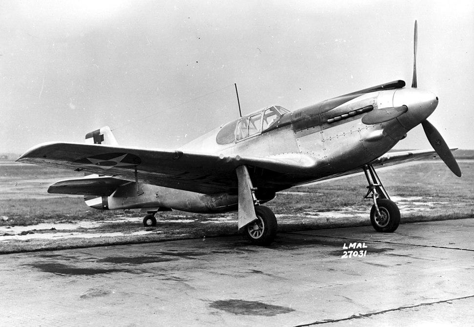 XP-51, serial number 41-039