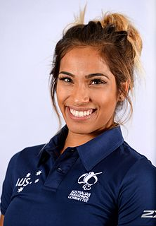 Madison de Rozario Australian Paralympic athlete