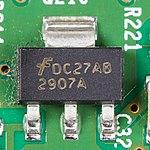 Xerox ColorQube 8570 - PCB Wave Amp - Fairchild DC27AB 2907A-9198.jpg