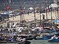 Yamuna River Scene during Magh Mela Festival Sangam Site - Allahabad - Uttar Pradesh - India (12589117923).jpg
