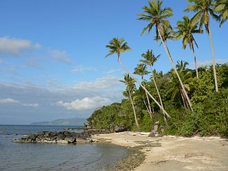Kadavu Island - Coastline on Kadavu