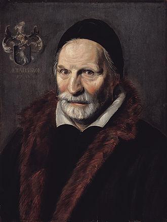 1611 in art - Hals – Jacobus Zaffius