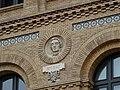 Zaragoza - Antigua Facultad de Medicina - Medallón - Bichat.jpg
