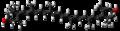 Zeaxanthin molecule ball.png