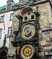 Zegar astronomiczny na praskim ratuszu staromiejskim(Aw58)DSC06654.JPG