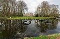 Zeist - Hernhuttersingel - Park bij Slot Zeist - Slot Zeist (1677-1686) by Jacobus Roman 4 - Common Coots are building a nest.jpg