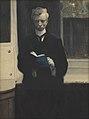 Zelfportret met blauw schetsboek, Léon Spilliaert, 1907, Koninklijk Museum voor Schone Kunsten Antwerpen, 2697.jpg