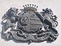 Zichy család címere a templom falán Somlószőlős.jpg