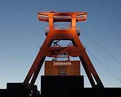 Zeche Zollverein: Der Doppelbock von Schacht 12