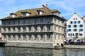 Zunfthaus zur Haue - Limmat - Wühre 2013-04-15 13-56-44.JPG