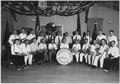 """Boulder City Municipal American Legion Band, Director Otto J. Littler, U.S.B.R., standing sixth from left, back row."" - NARA - 293705.tif"