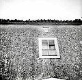"""""""Ključ"""" (sklepnik stare kalone) pod žlebom, Loka 1958.jpg"""