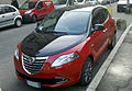 """ 12 - ITALY - Lancia Ypsilong bicolor ( black and red ) in Milan 08.jpg"