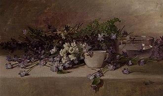 Mills College Art Museum - Image: 'Still Life' by Nora Allis Schmalhorst, c. 1895, Mills College Art Museum
