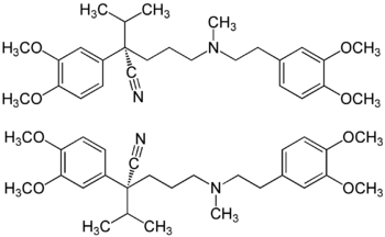 (±)-Verapamil Structural Formulae.png