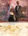 (Albi) La loge au mascaron doré 1893 -Toulouse-Lautrec MTL.154.jpg