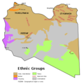 (Ethnic composition of the Libyan population in 1974 to now (CIA map.png