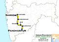 (Pandharpur - Shiridi) Express Route map.jpg