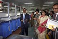 (Smt.) Kruparani Killi inspecting the operation of Letter Sorting Machine after inaugurating the Automated Mail Processing Centre (AMPC), at Kolkata. The Secretary, Department of Posts, Smt. Manjula Prasher is also seen.jpg