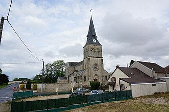 Aulnay-sur-Marne - Image: Église A Ulnay 09861