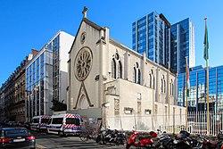 Église Sainte-Rita de Paris le 7 août 2016 - 1.jpg