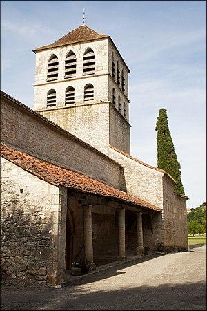 Caillac - Image: Église de Caillac
