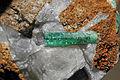 Émeraude, parisite-(Ce), calcite 300-3-0213.JPG