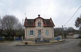 The town hall/school