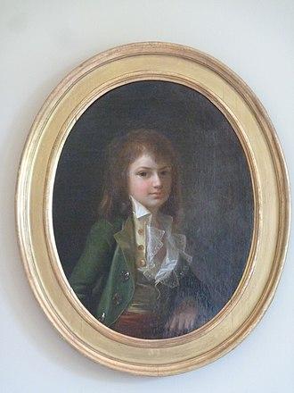 Johannes Søbøtker - Søbøtker painted by Jens Juel in 1788