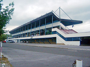 FK Inter Bratislava - Stadium ŠKP Inter Dúbravka in Dúbravka-Bratislava