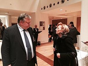 Geneva II Conference on Syria - Evangelos Venizelos and Emma Bonino