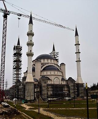 Aqmescit Friday mosque mosque in Crimea