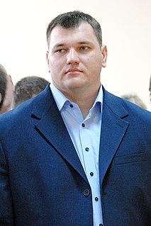 Aleksey Lovchev Russian weightlifter