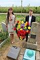 Братська могила 9 радянських воїнів, загиблих при звільненні села 4-6 квітня 1944 р., смт Велика Михайлівка, кладовище.jpg