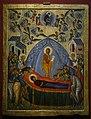 Икона «Голубое Успение» XV век Тверская школа.jpg