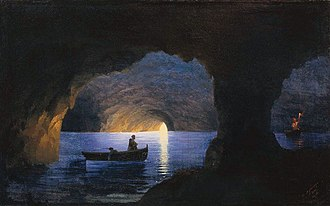 Hydrogeology - Painting by Ivan Aivazovsky (1841)