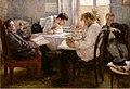 Леонид О. Пастернак - Ночь накануне экзамена (1895).jpg