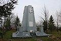 Липовець, Братська могила словацьких солдатів, загиблим під час наступу.jpg